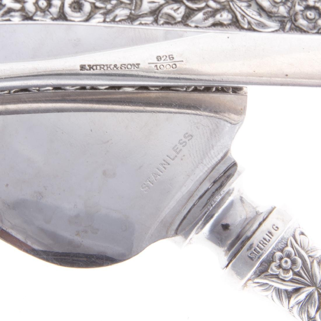 Kirk sterling silver serving utensils (5) - 5