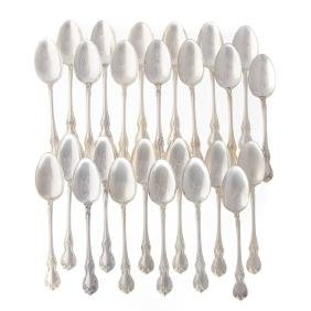 """Towle """"Old Master"""" sterling silver teaspoons"""