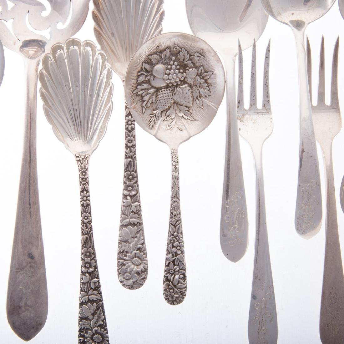 Collection of Kirk sterling silver flatware - 2