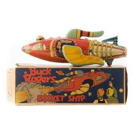 Buck Rogers 25th Century Rocket ship with Box