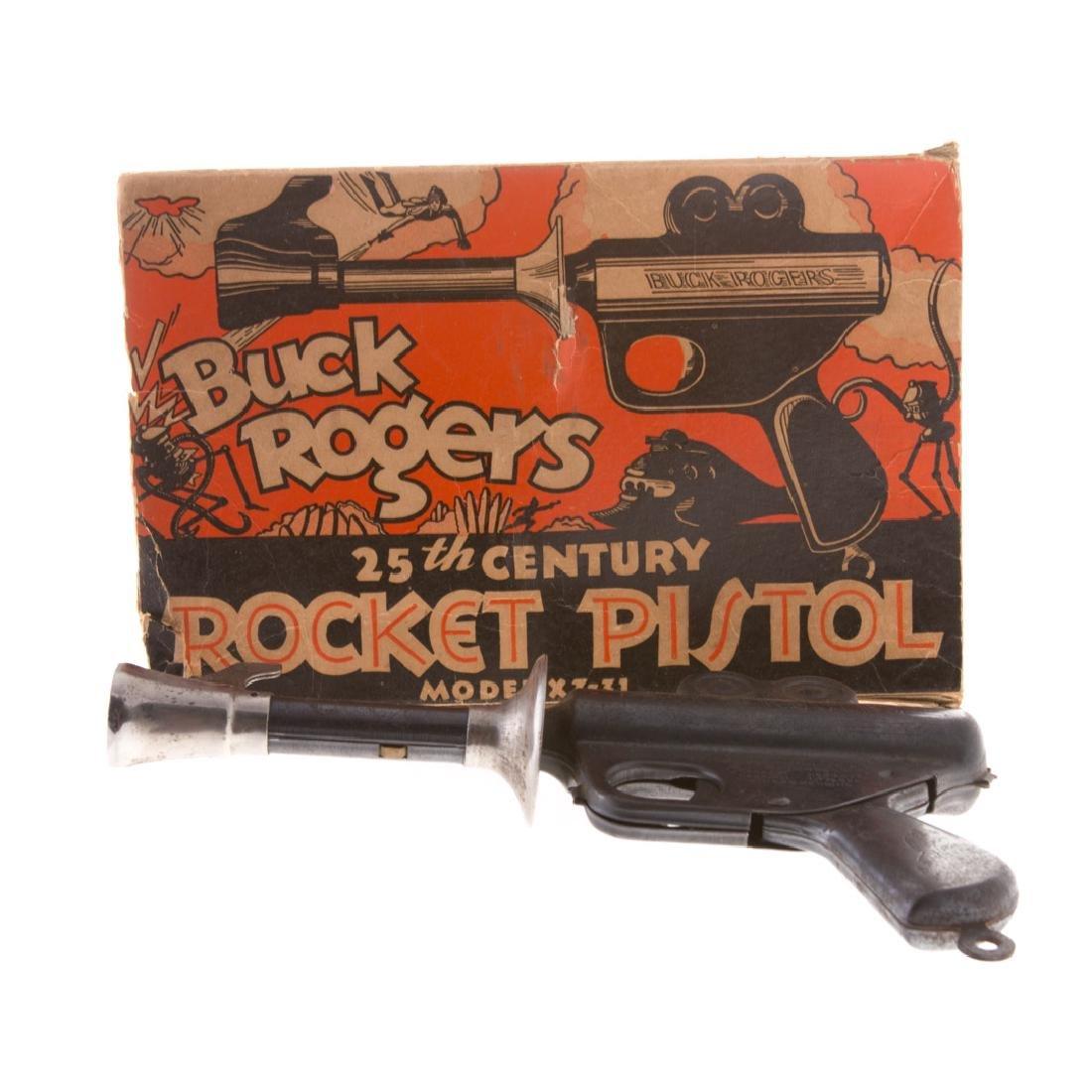 Buck Rogers 25th Century Rocket Pistol with Box