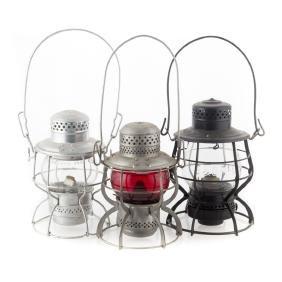 B&O Railroad Lanterns (3)