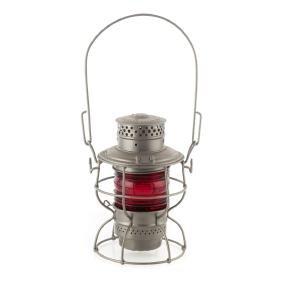B&O Railroad Lantern, Red Globe