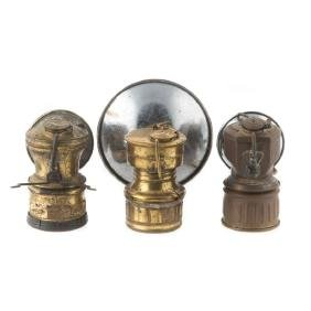 Lamps, Miner's Head lamps (3)
