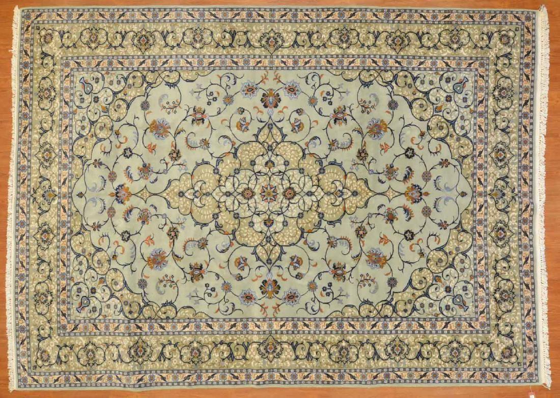 Persian Keshan carpet, approx. 8 x 11.2