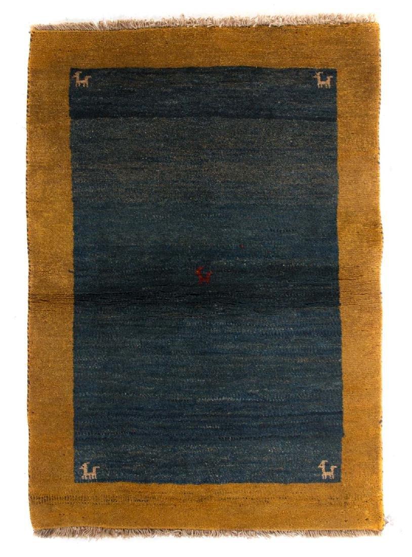 Persian Gabbeh rug, approx. 3.4 x 4.9