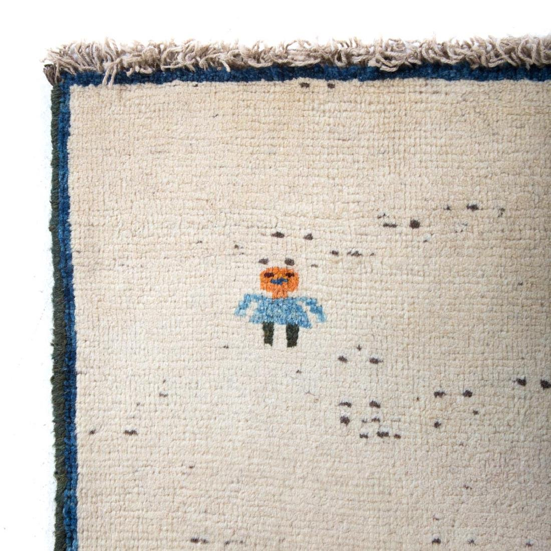 Persian Gabbeh rug, approx. 3.8 x 4.7 - 2