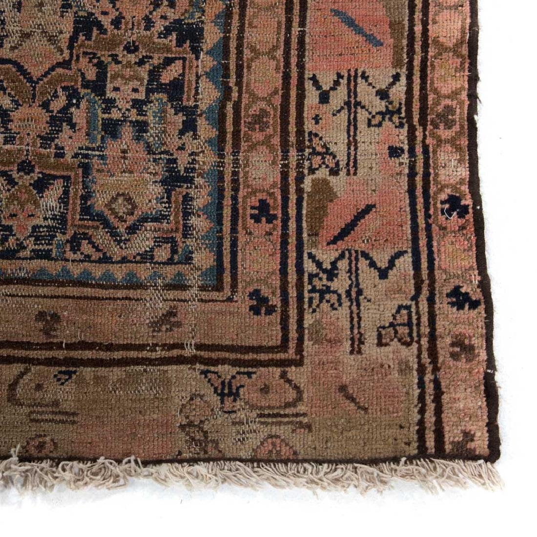 Two antique Persian Hamadan rugs - 2