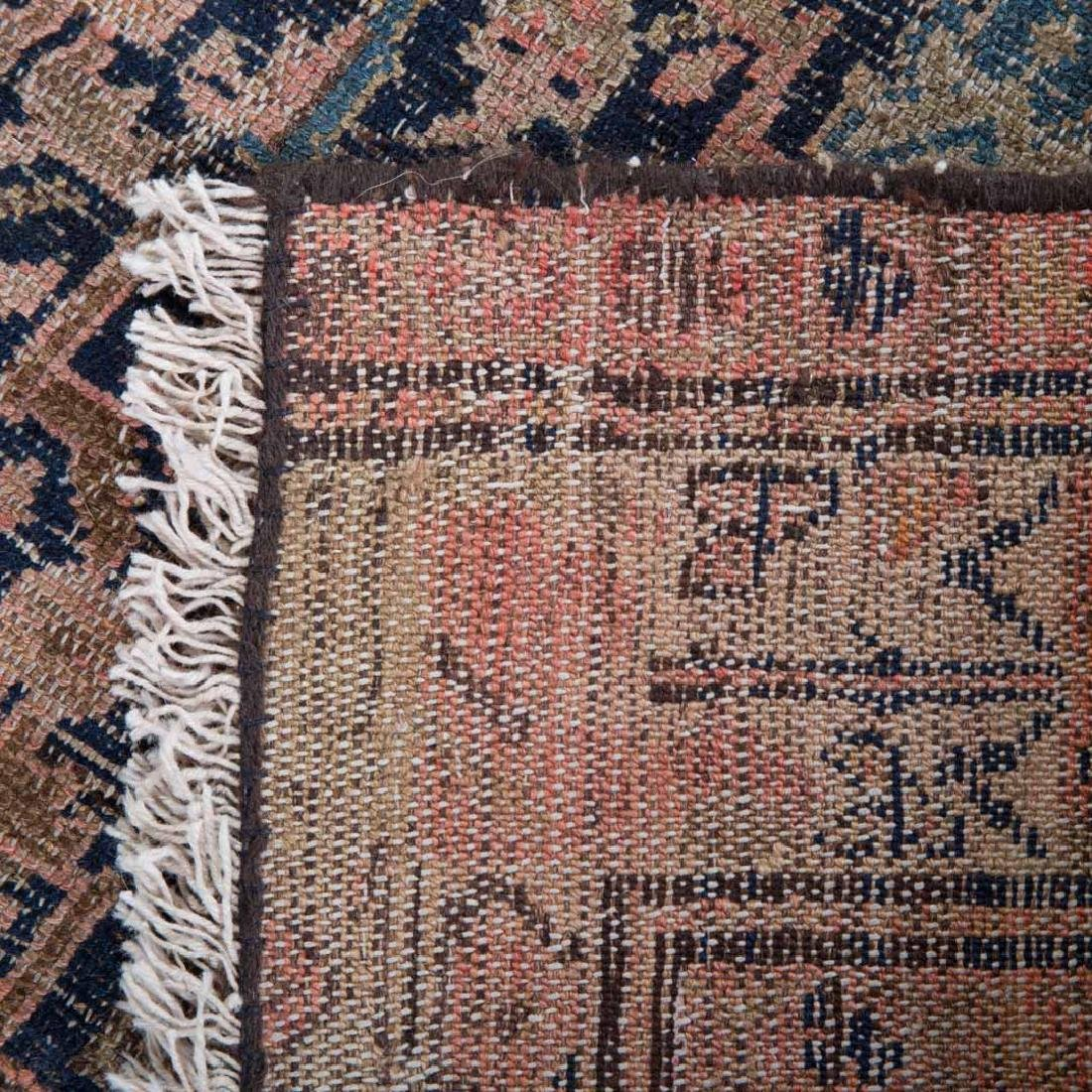 Two antique Persian Hamadan rugs - 3