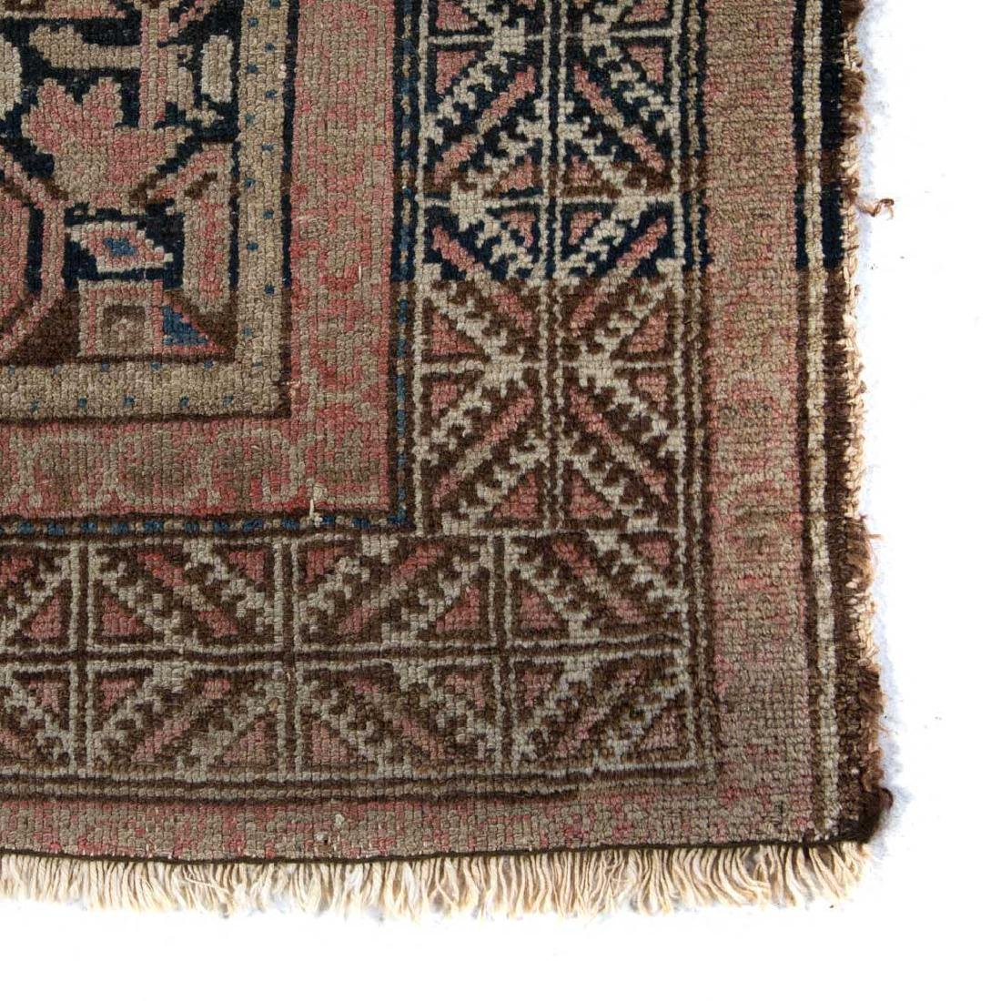 Two antique Persian Hamadan rugs - 4
