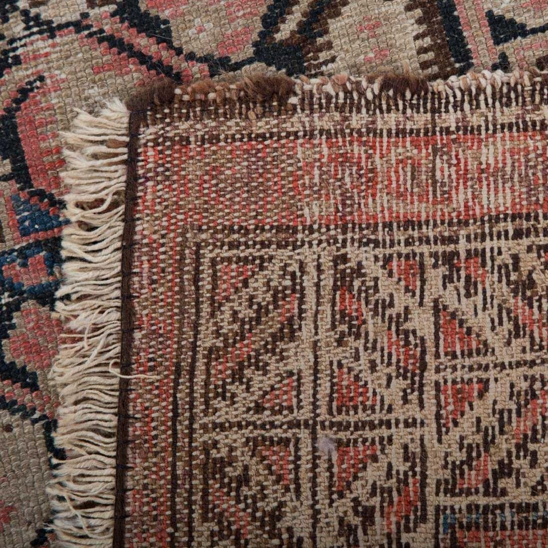 Two antique Persian Hamadan rugs - 5
