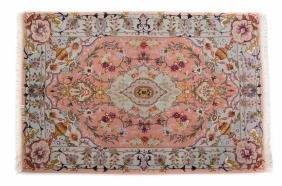 Persian Tabriz rug, approx. 3.4 x 4.10