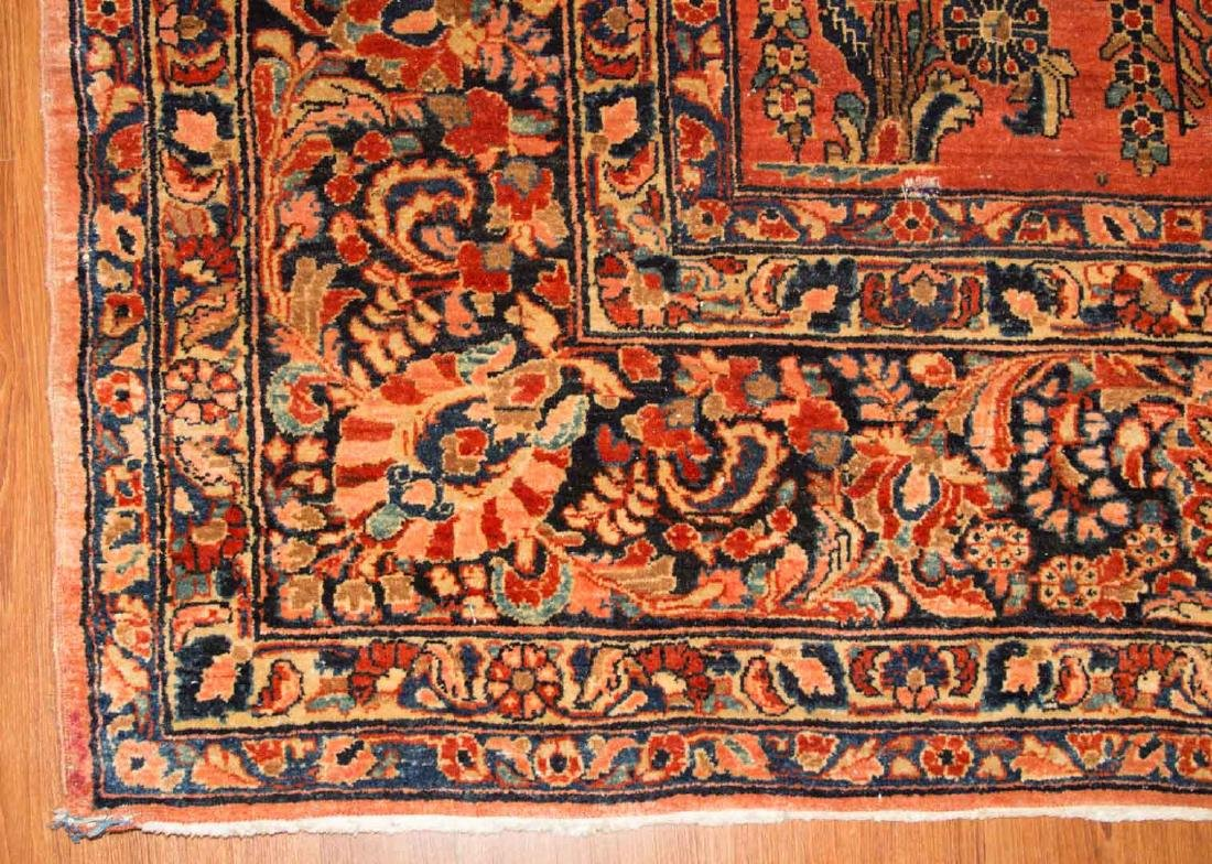 Antique Sarouk carpet, approx. 10 x 17.6 - 2