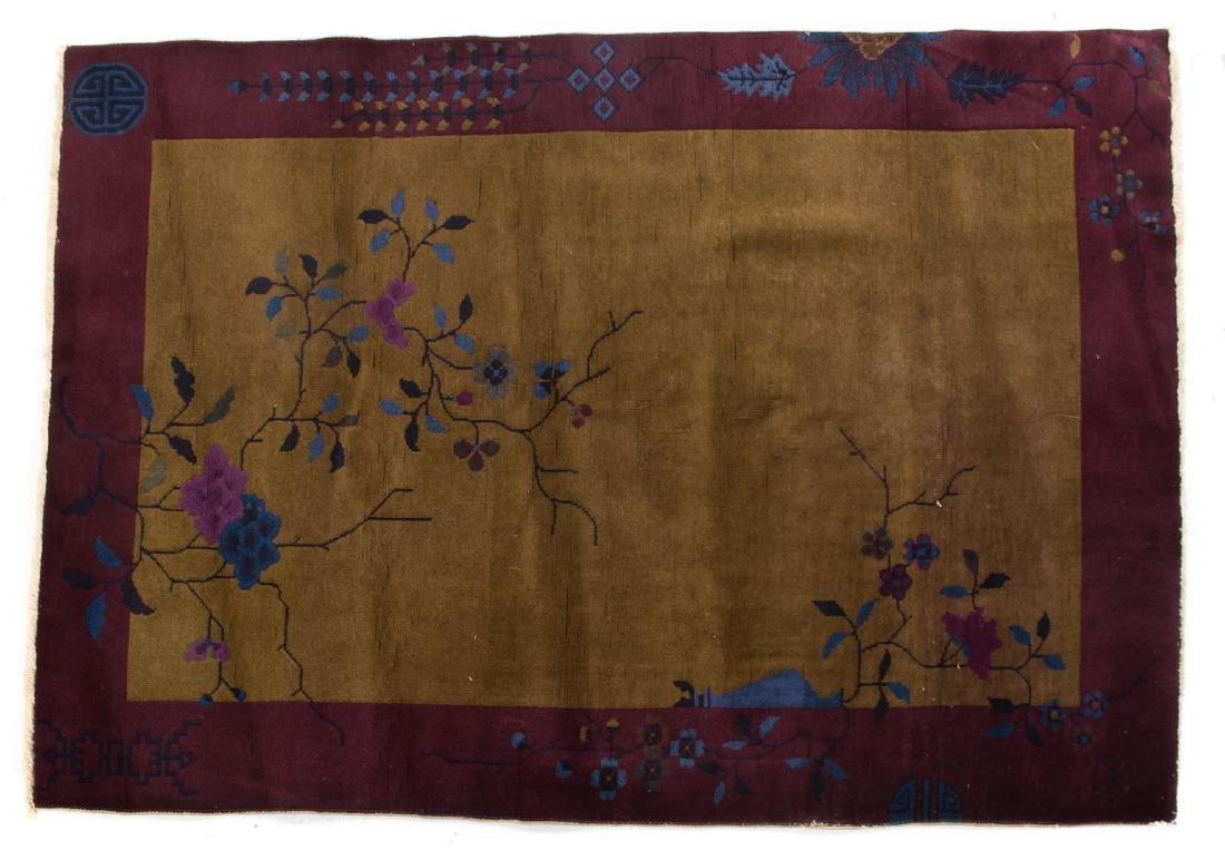 Antique Fette rug, approx. 4 x 6