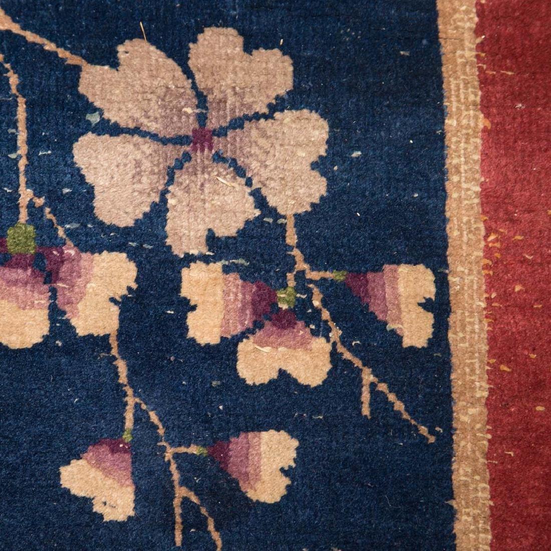 Antique Nichols Chinese carpet, approx. 8.9 x 11.6 - 3