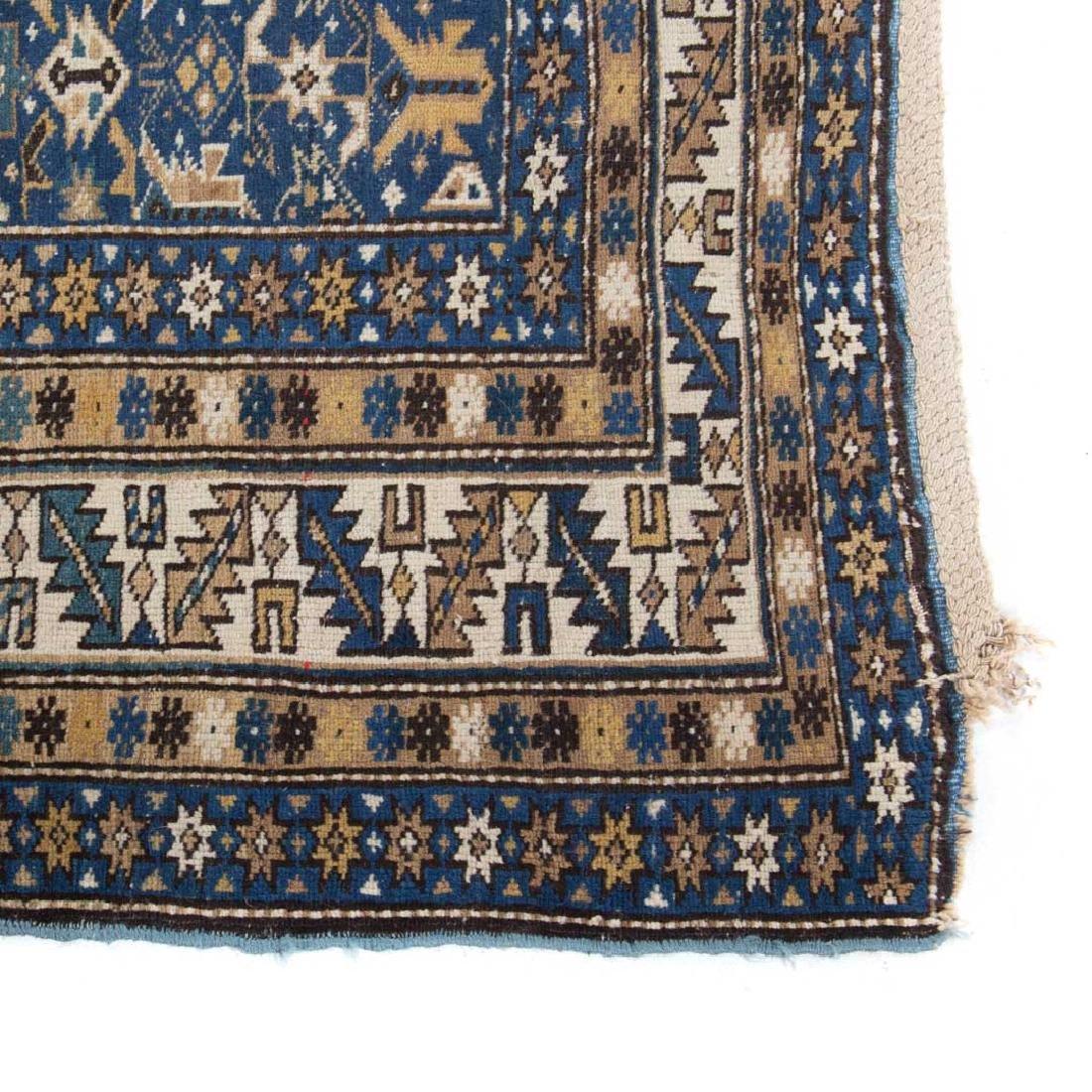 Antique Caucasian rug, approx. 3.7 x 6.4 - 2