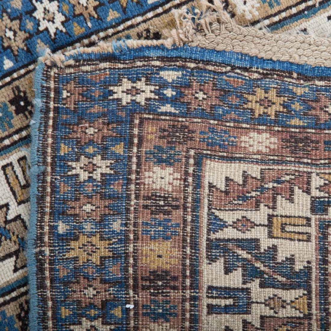 Antique Caucasian rug, approx. 3.7 x 6.4 - 3