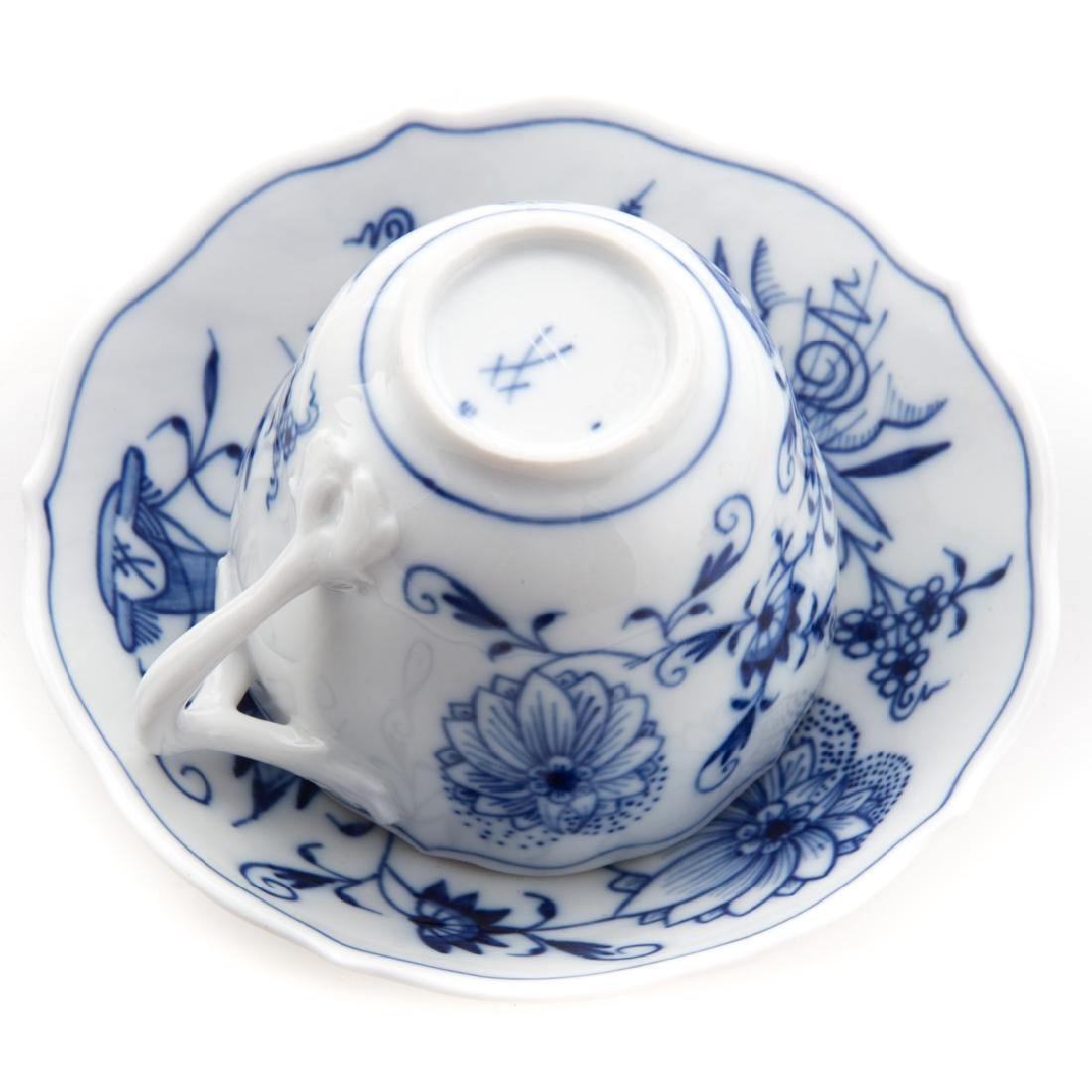Dresden porcelain partial tea service - 5
