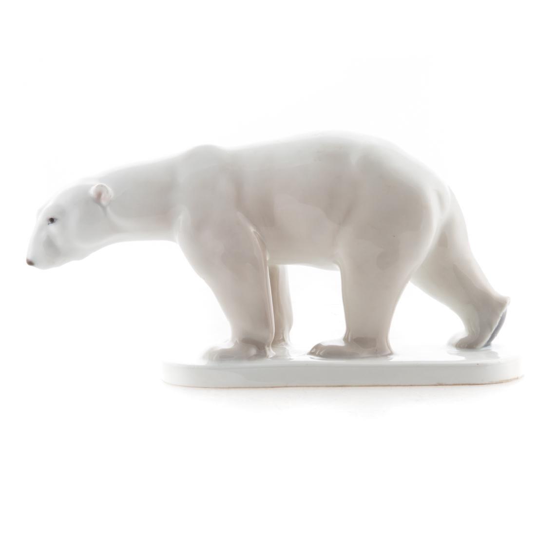 KPM porcelain polar bear