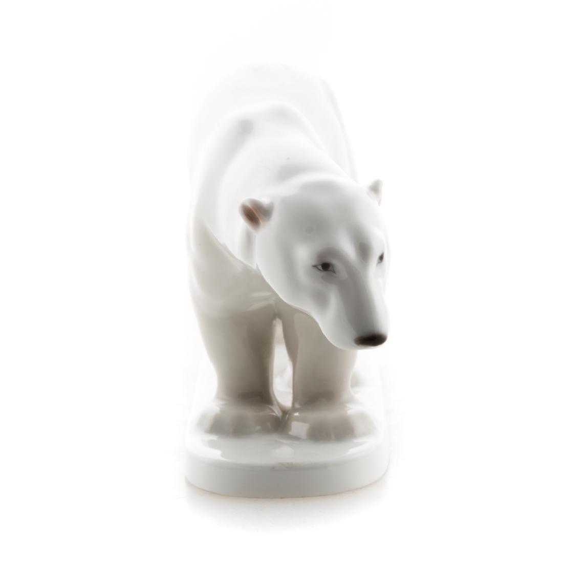 KPM porcelain polar bear - 2