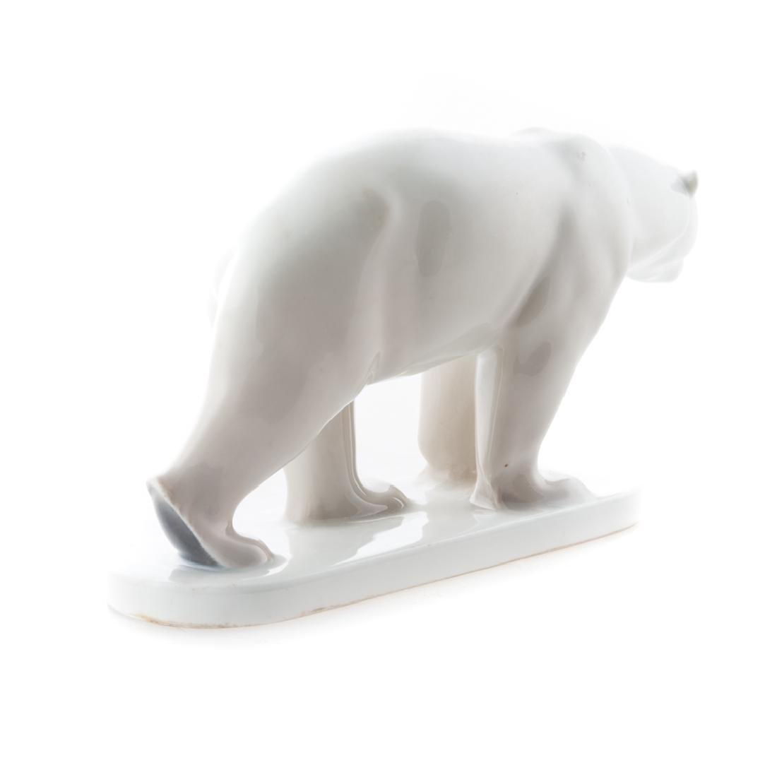 KPM porcelain polar bear - 3