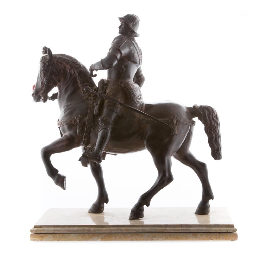 After Andrea del Verrocchio. Colleoni bronze