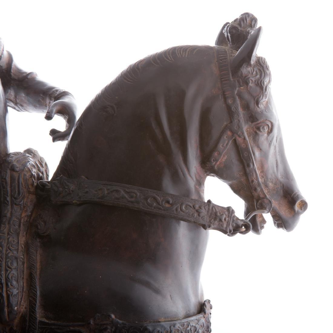 After Andrea del Verrocchio. Colleoni bronze - 5