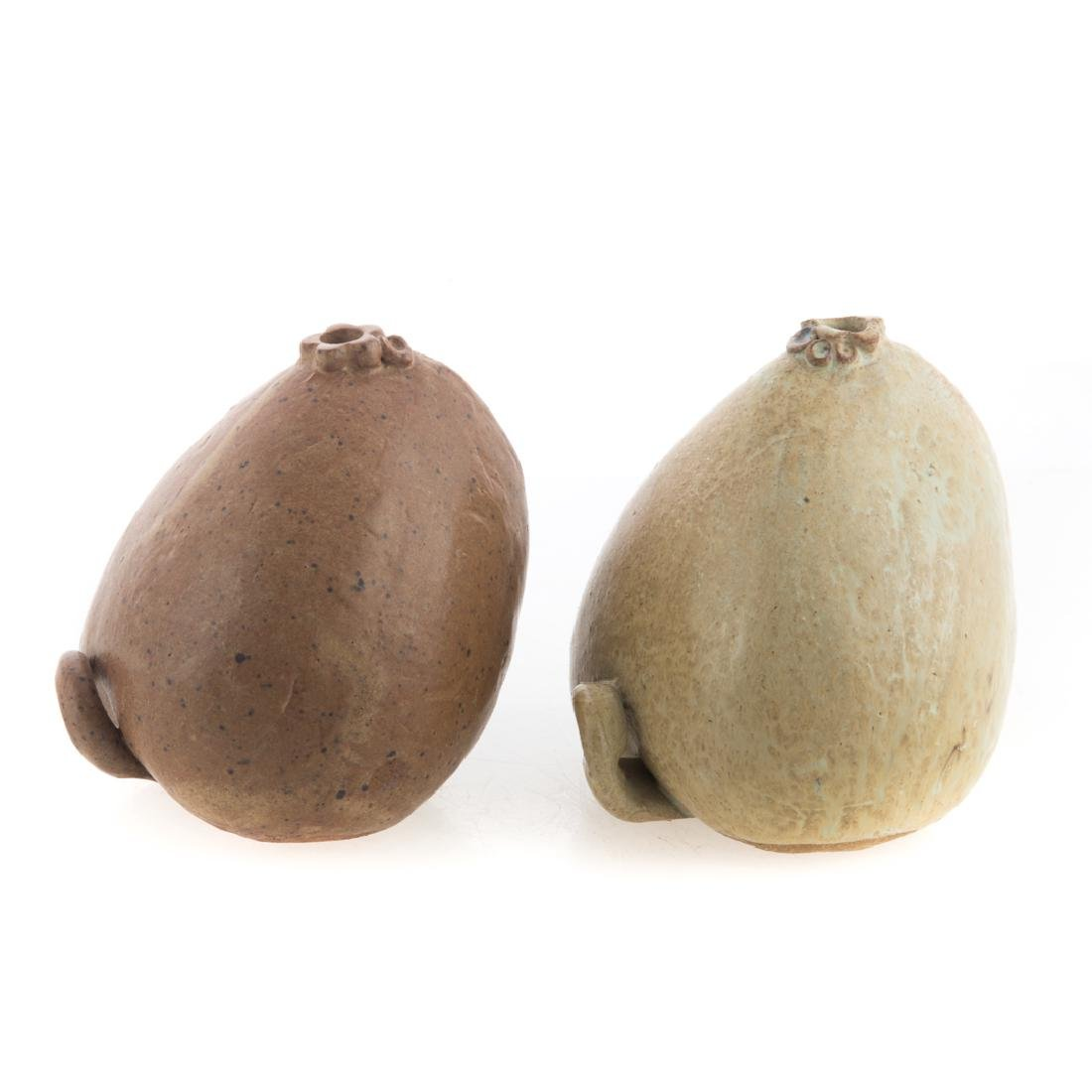 Slaithong Schmutzhart. Two ceramic fruits - 2