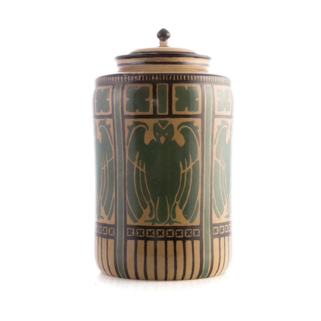 American Belleek (Lenox) ceramic jar