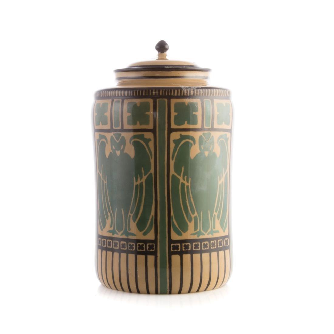 American Belleek (Lenox) ceramic jar - 2
