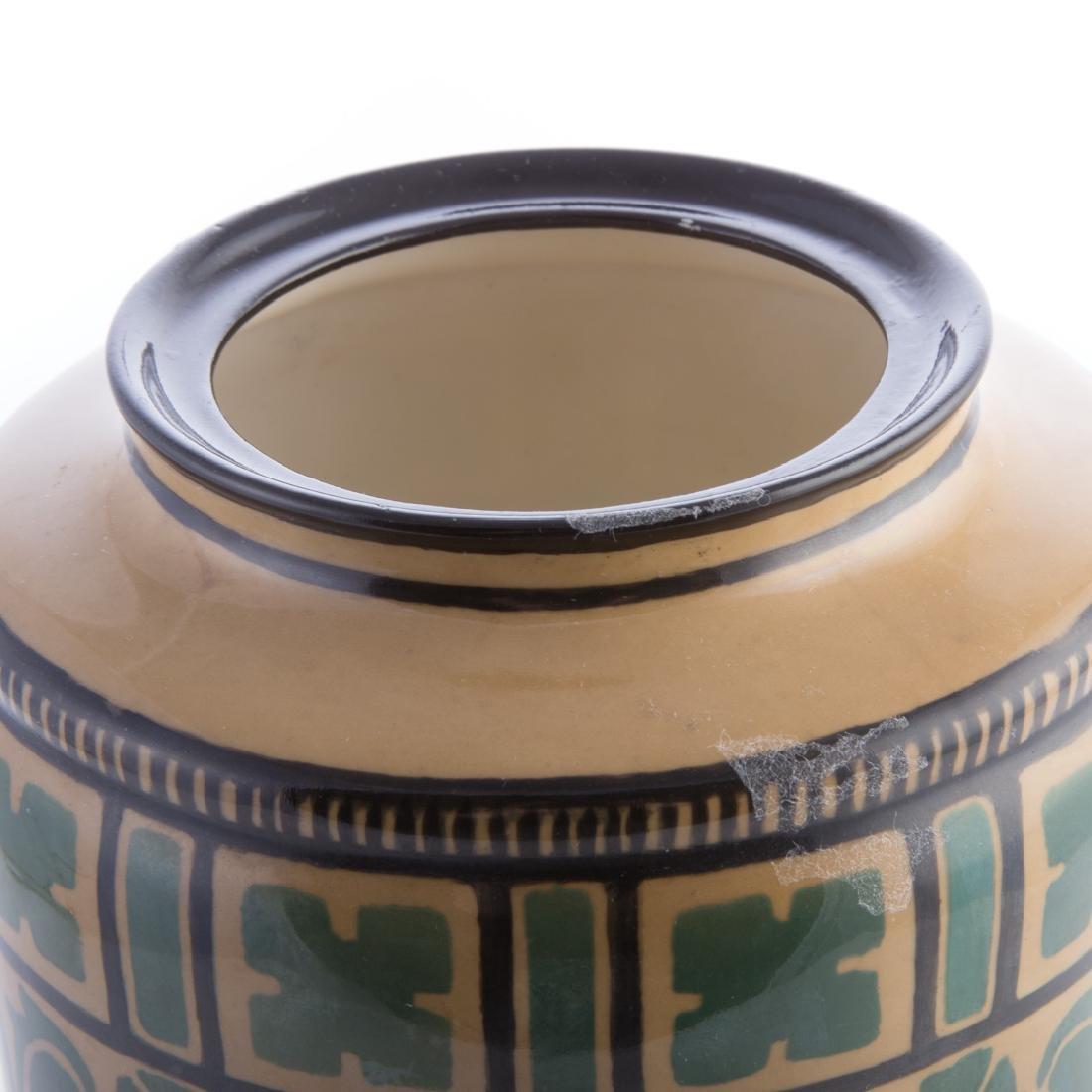 American Belleek (Lenox) ceramic jar - 3