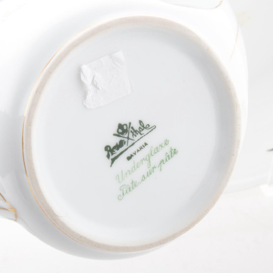 9 pcs. Rosenthal Pate-sur-Pate Donatello porcelain - 3