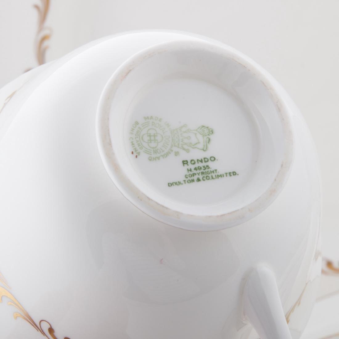 "Royal Doulton bone china ""Rondo"" service - 3"