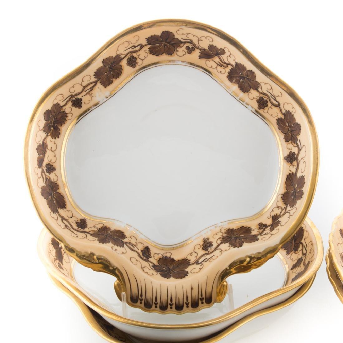 Six Pochet D' a Paris porcelain serving dishes - 2