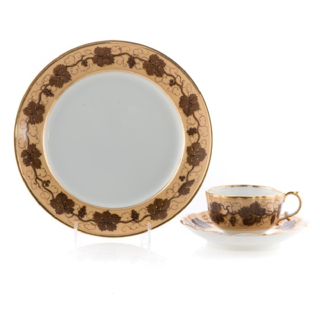 23 Pochet D' a Paris porcelain table articles