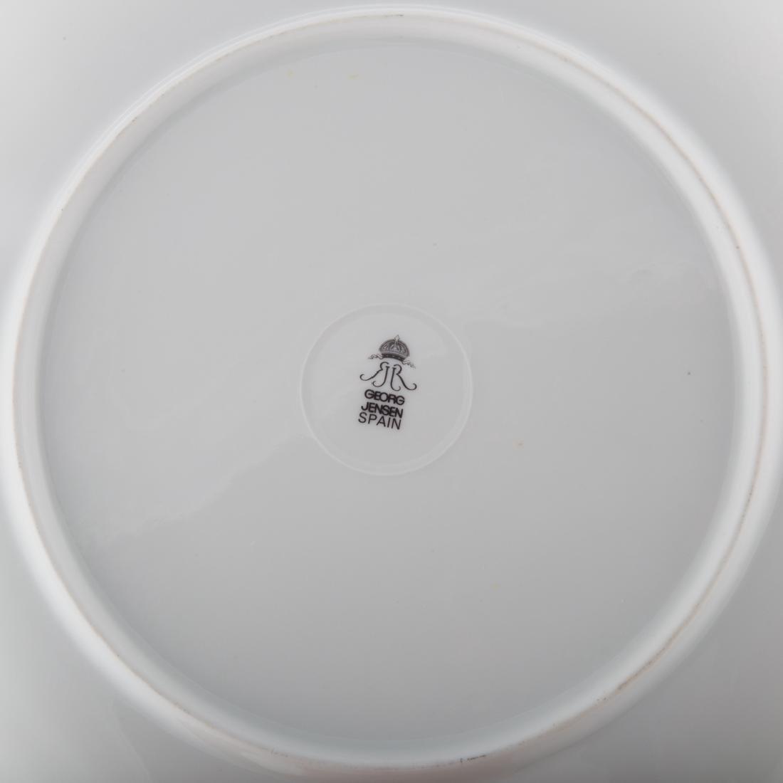 15 Georg Jensen porcelain Party plates - 3