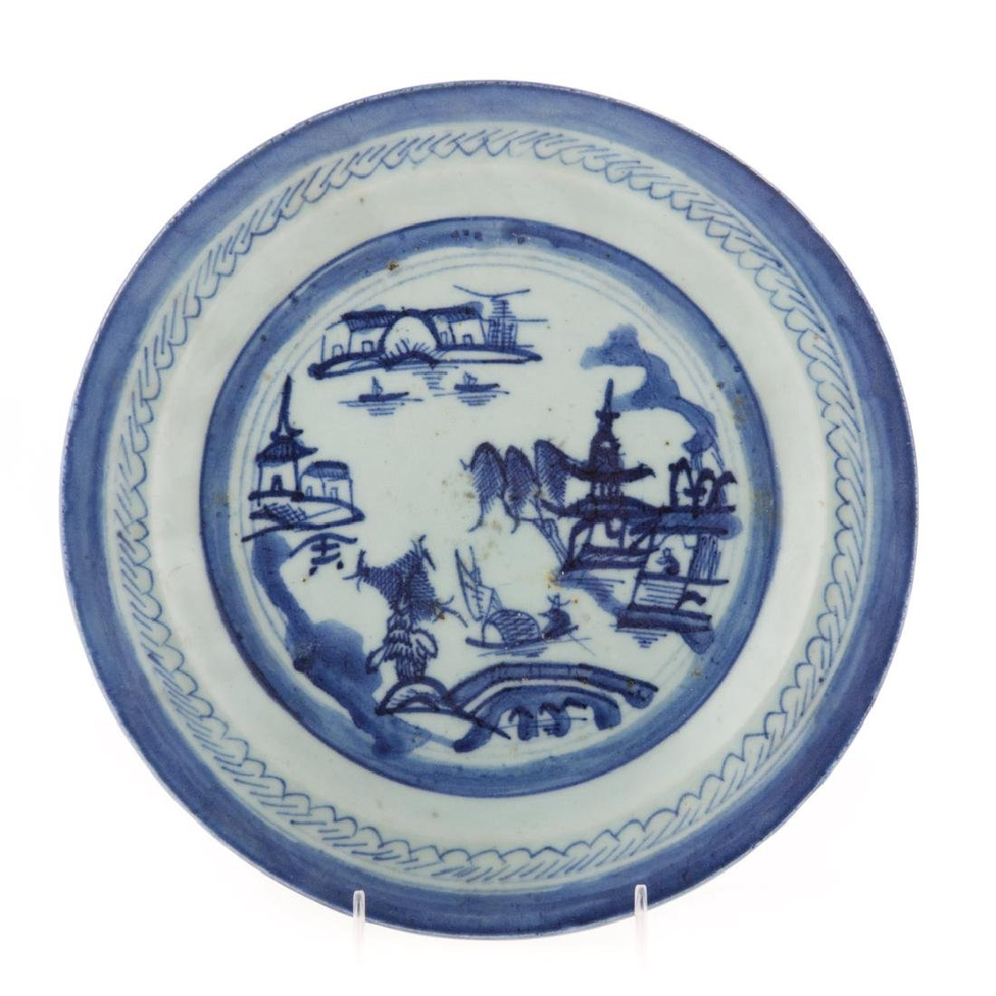 10 Chinese Export Canton dinner plates - 3