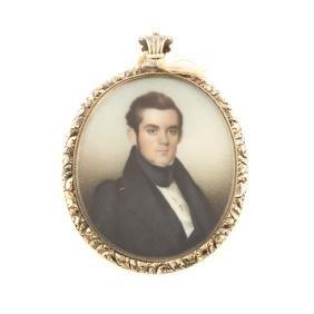 Attr. Charles Weinedel. Charles Marvin portrait