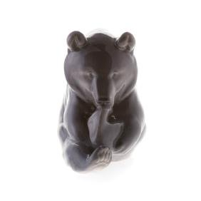 Royal Copenhagen porcelain bear by Erik Nielson
