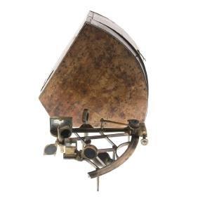 Owen Owens brass sextant