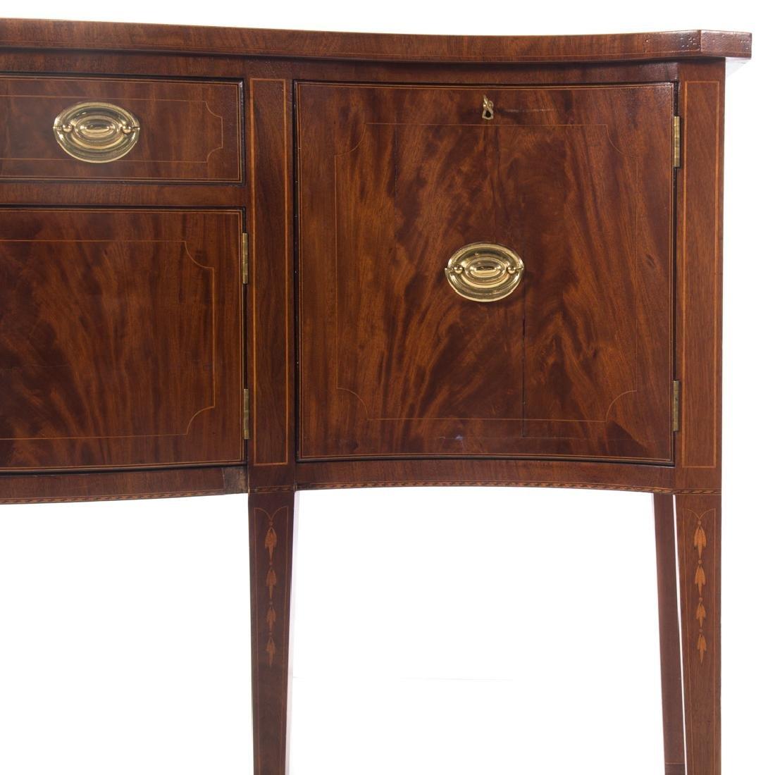 Centennial Federal style inlaid mahogany sideboard - 2