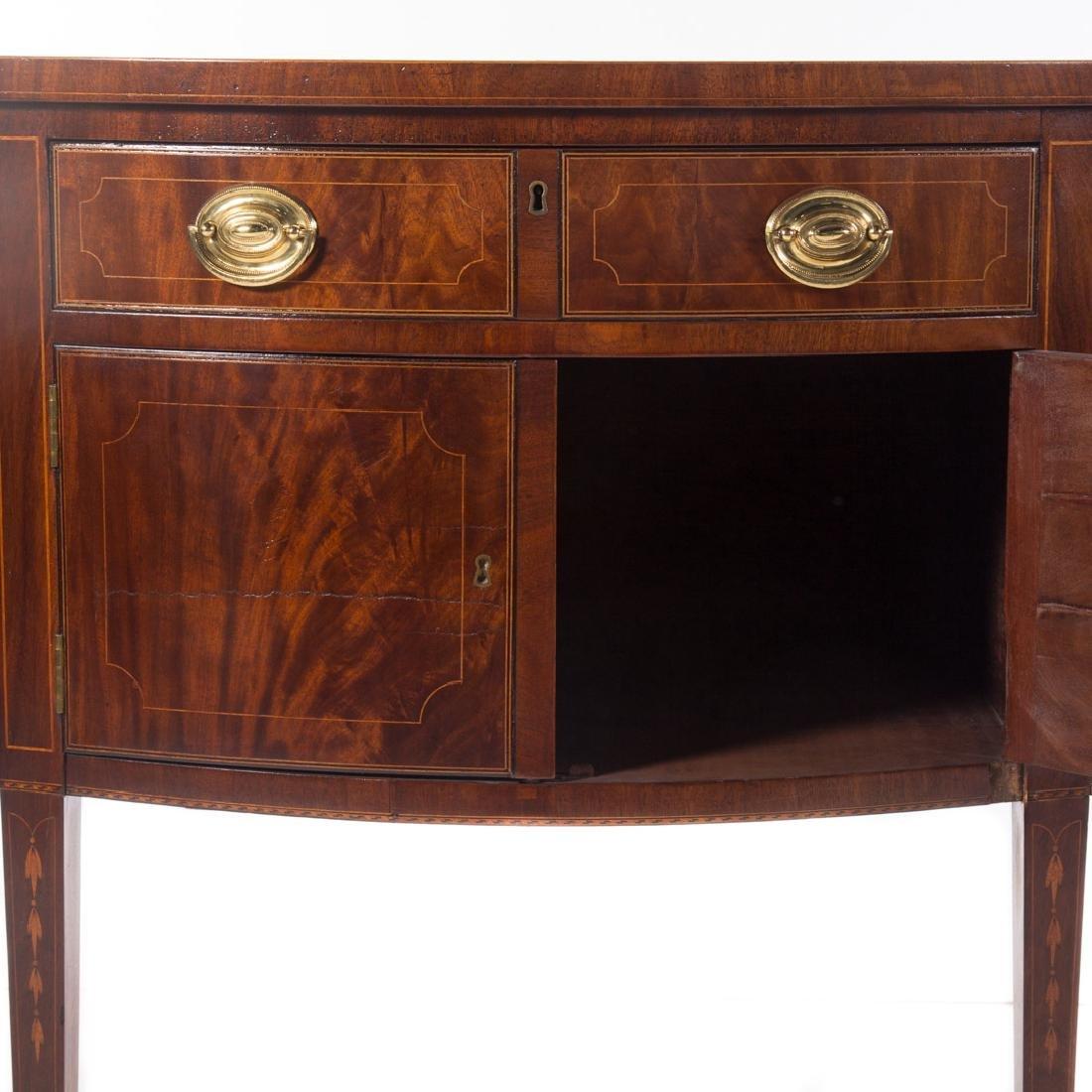 Centennial Federal style inlaid mahogany sideboard - 3