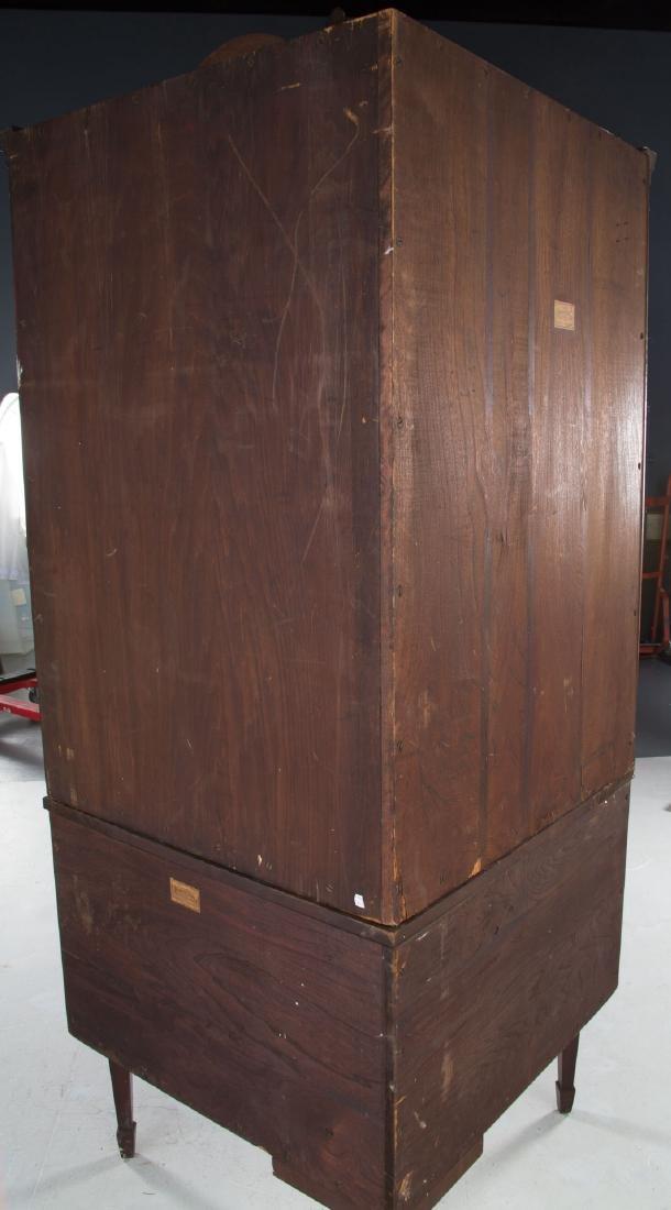 Potthast Federal style mahogany corner cabinet - 6