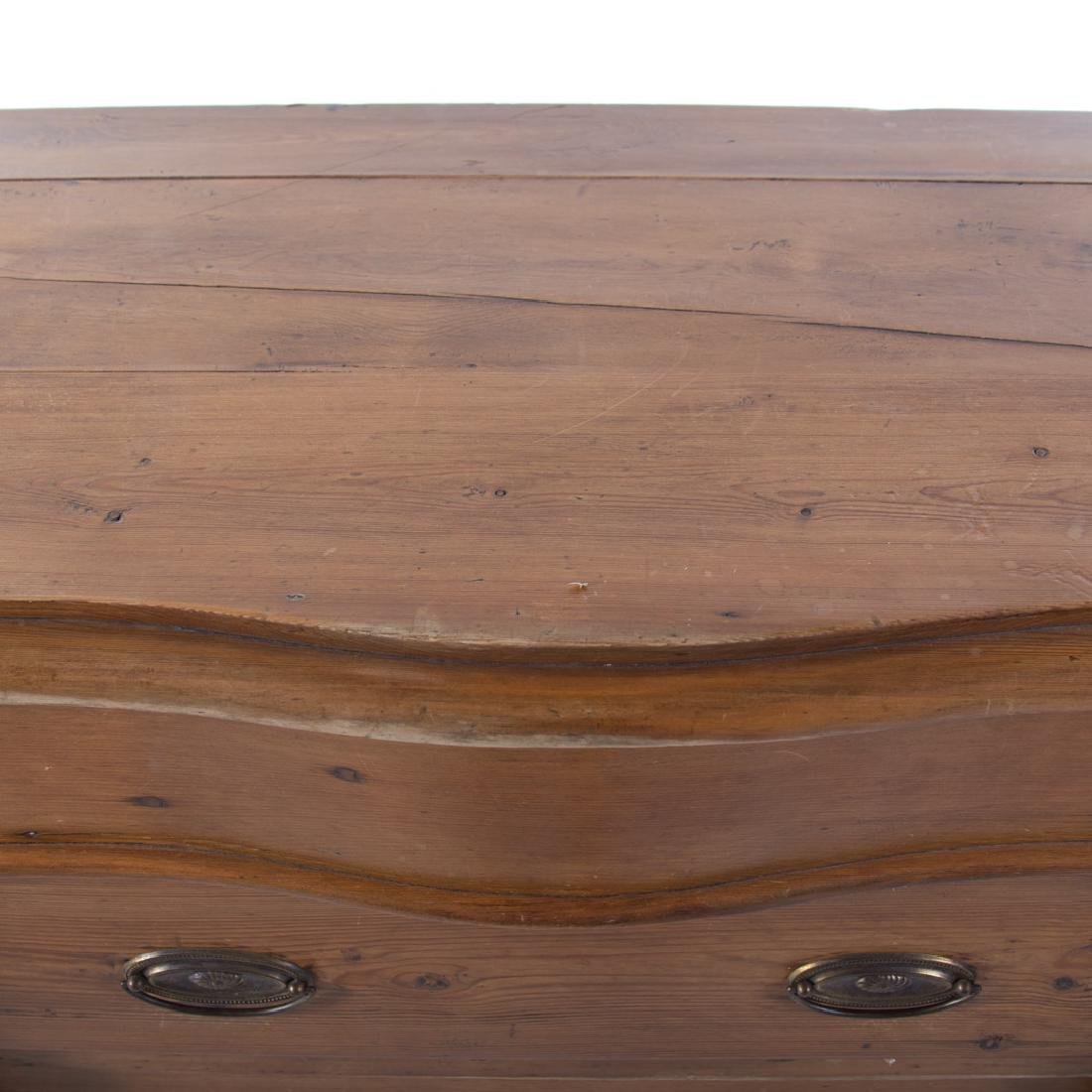 Victorian scrubbed pine buffet - 4
