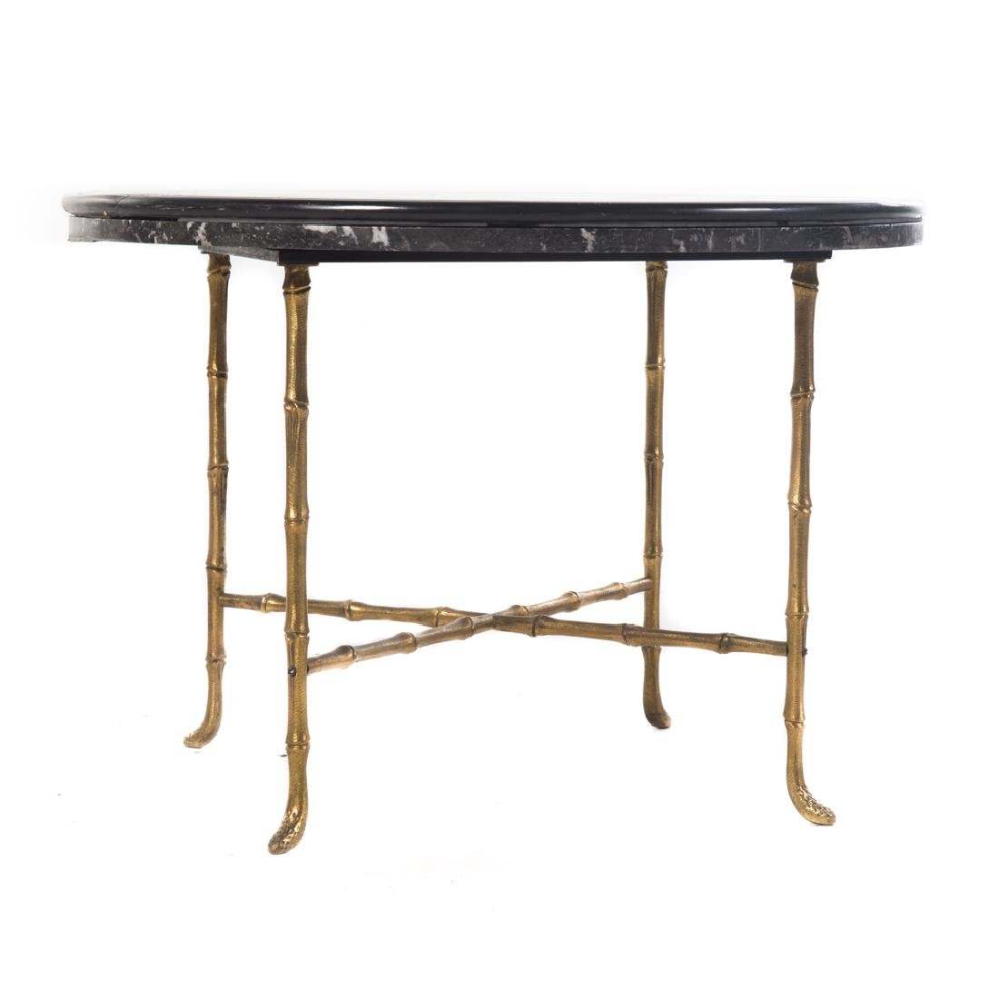 Italian specimen marble top side table - 2
