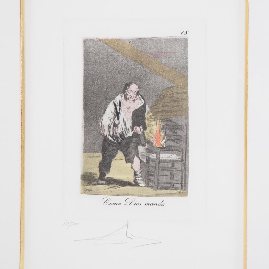 """Salvador Dali. """"Como Dios Manda"""", etching - 2"""