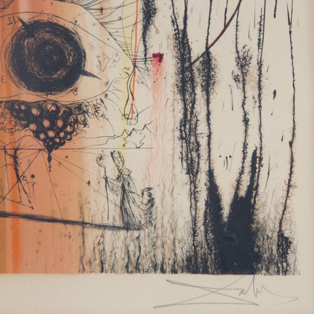 "Salvador Dali. ""L'art dans les bijoux"", lithograph - 2"