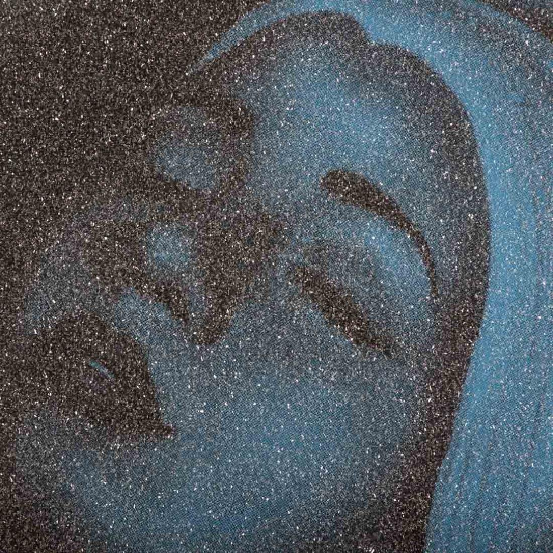 "Carole Feuerman. ""Monumental Shower (Blue)"" - 2"