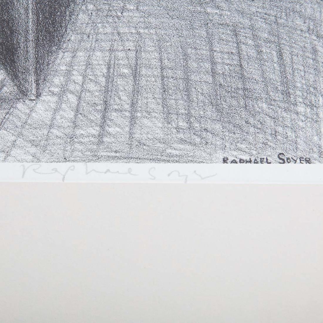 "Raphael Soyer. ""My Studio,"" lithograph - 2"