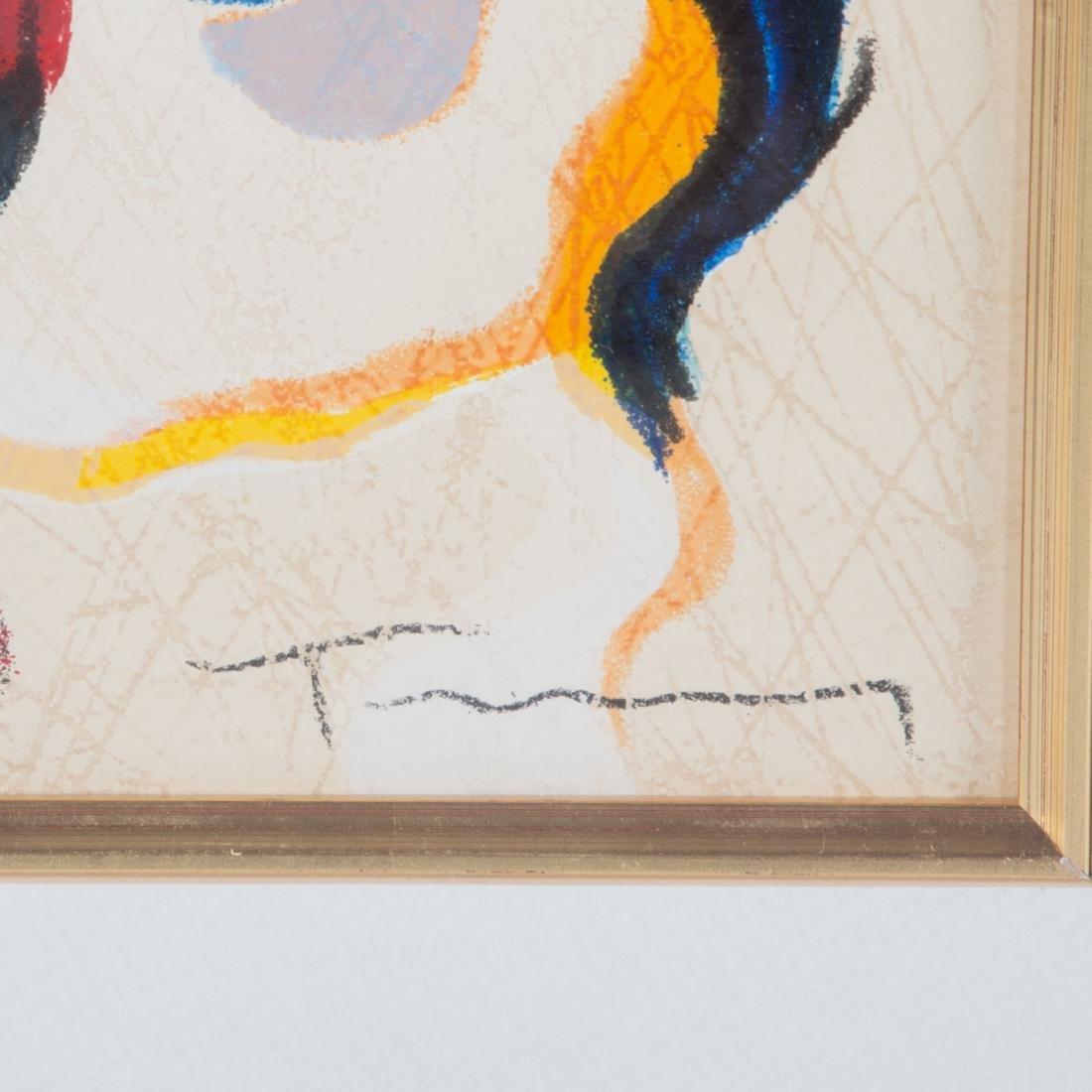 Isaac Tarkay. Seated Ladies, pair of serigraphs - 2